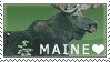 LOVE Maine Stamp by SunkissedSuicide