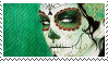 dia de los muertos stamp by fictionally