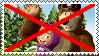 Anti Masha and Bear stamp by alexeigribanov