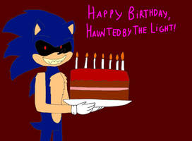 Happy Birthday, HauntedByTheLight! by alexeigribanov