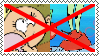 Anti Mr.Krabs X Lily Loud Stamp by alexeigribanov