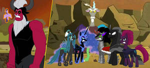Princess Twilight saved by the Villains