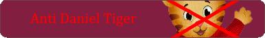 Anti Daniel Tiger Button