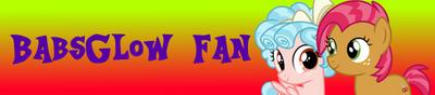 BabsGlow Fan Button by alexeigribanov
