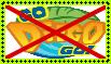 Anti Go, Diego, Go! Stamp by alexeigribanov