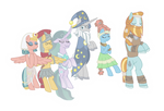 Spirits of The Pillars of Equestria