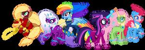 Power Ponies (G5 version)