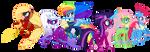 Power Ponies (G5 version) by alexeigribanov