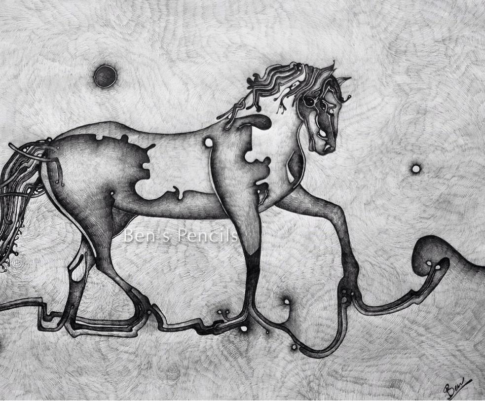 Equine Garden by BBMcKenzie