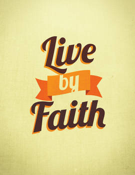 Live by Faith