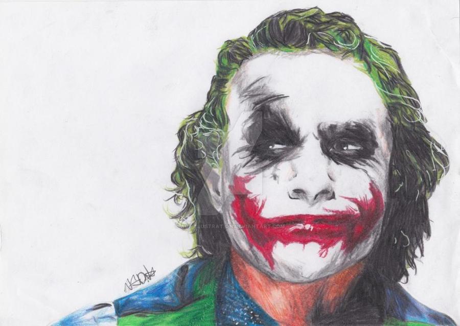 The Joker by AdiLohrey18