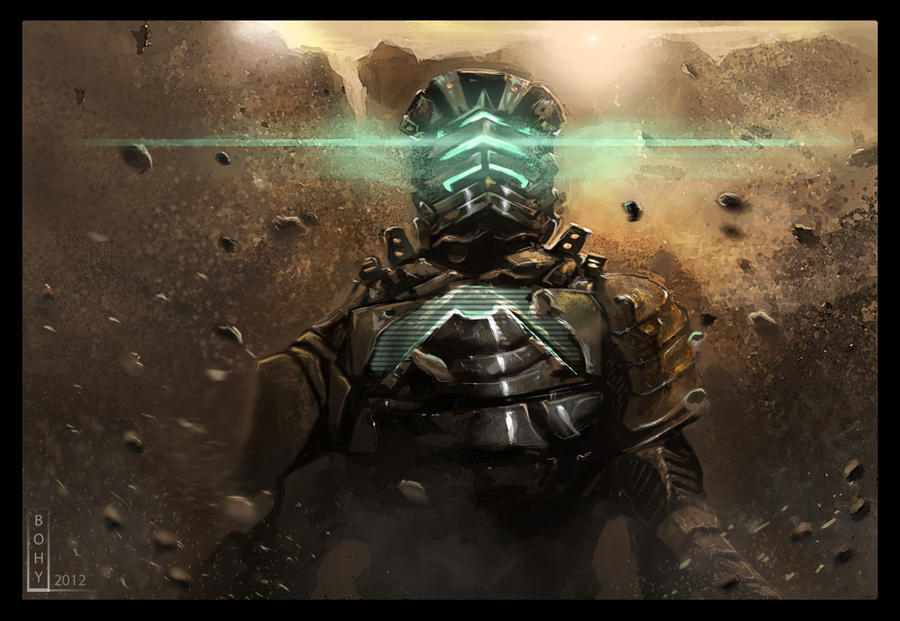 DeadSpace - Isaac on the Mars by Bohy