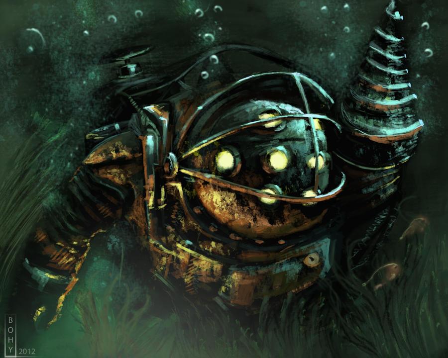 BioShock - Big Daddy practice by Bohy