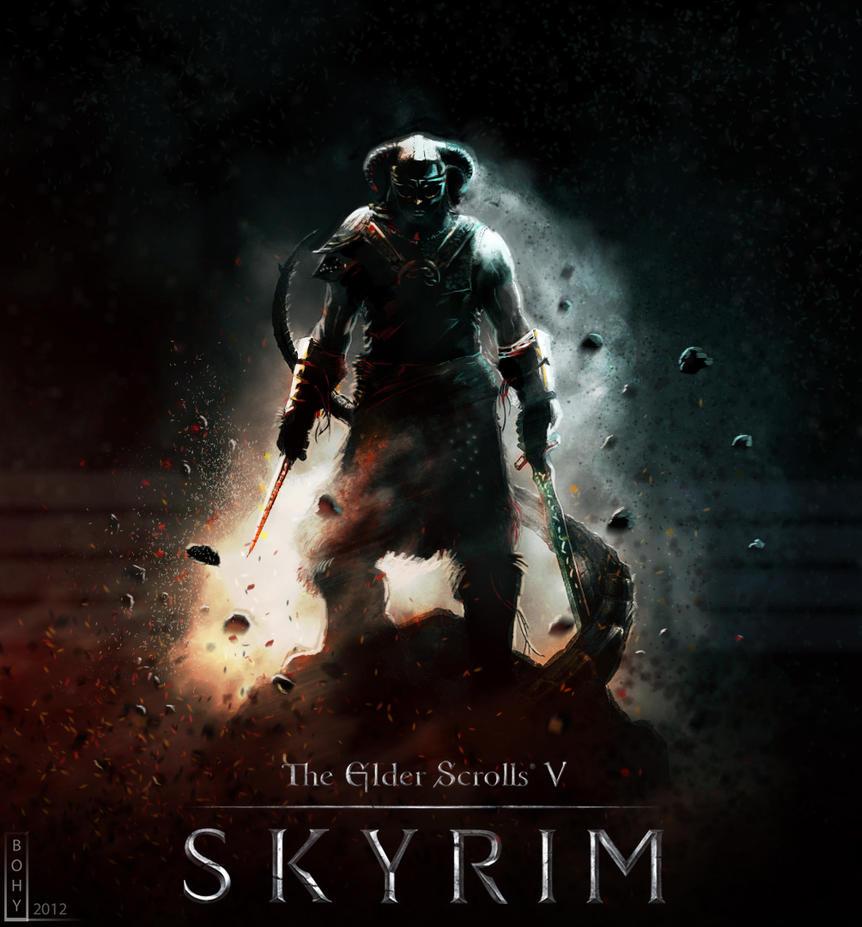 Skyrim - DragonBorn by Bohy