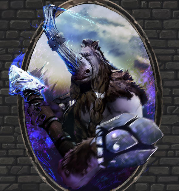 dota2 cards magnus by bohy on deviantart