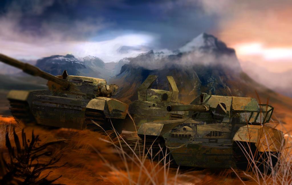 Tank Batallion by Bohy