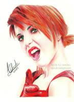 Oh Yeah! Hayley Williams by AJpr