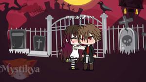 Enzo x Mystikya  (Gacha Life)