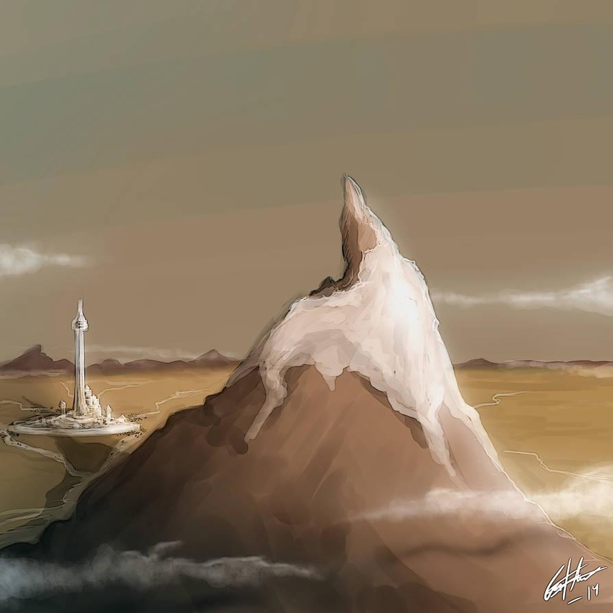 Shadow of Dragonmount by Kitsune-gari