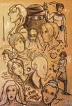 WoT doodles