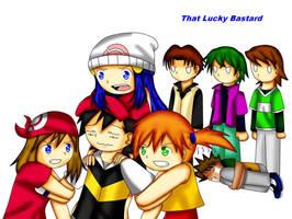 Lucky Bastard by xmizuwaterx