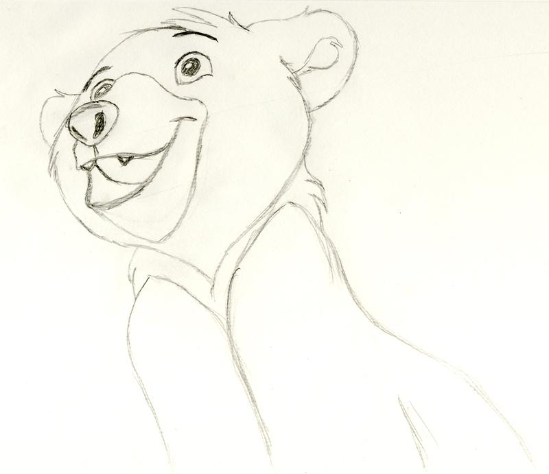 Kenai Brother Bear Drawing