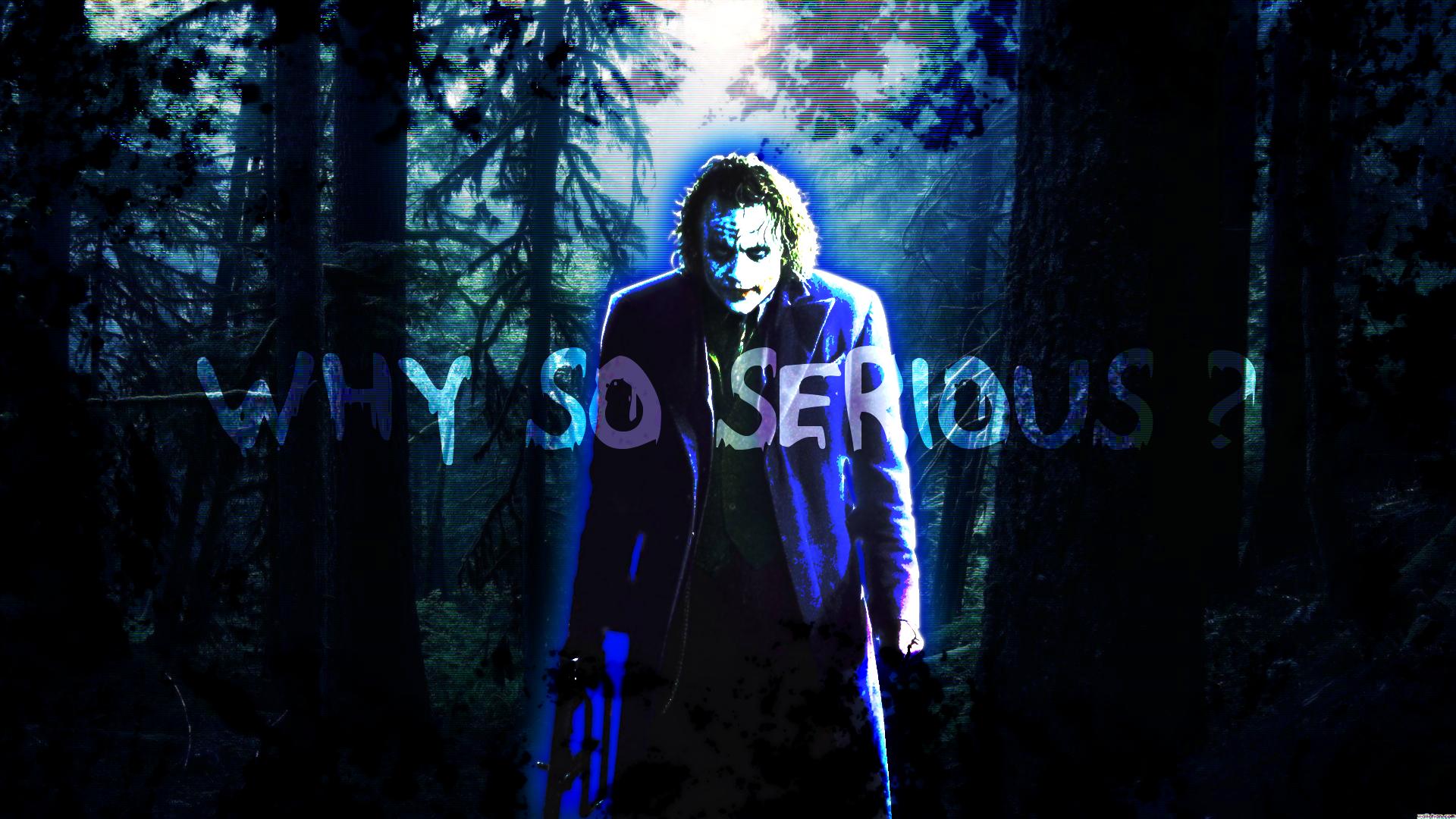 Joker (Why So Serious?) Wallpaper By Hosera On DeviantArt