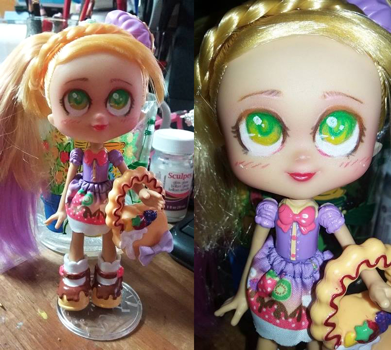Faceup - Shopkins Pamcakes by teaunicorn