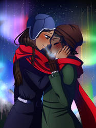 [c] is it gay to cuddle under the northern lights