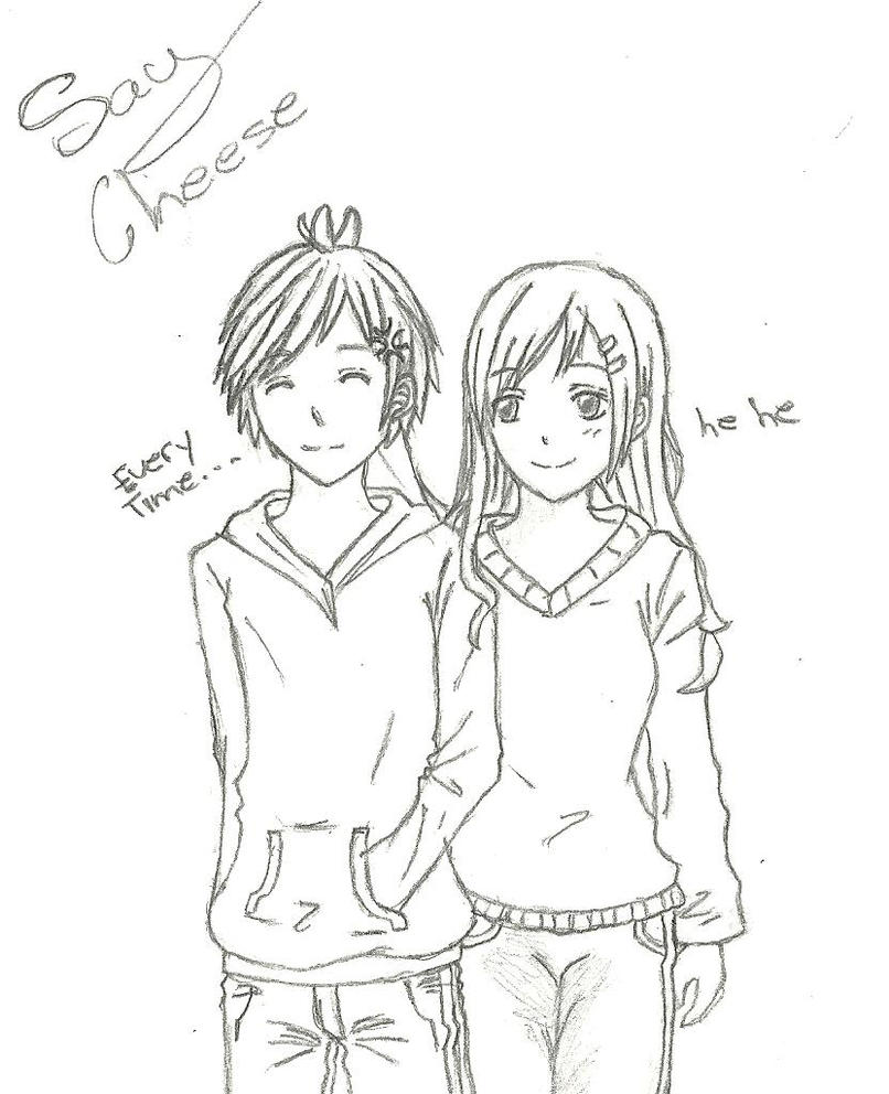 Pictures by love graffiti on deviantart for Cute sketches for your girlfriend