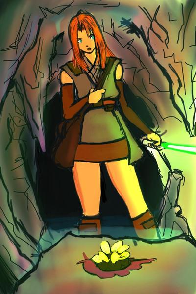 Mora Niss, Jedi Biologist by FleetwoodBlack
