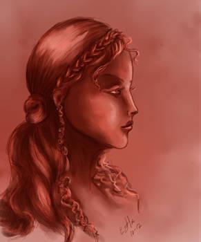 Maiden in Rose