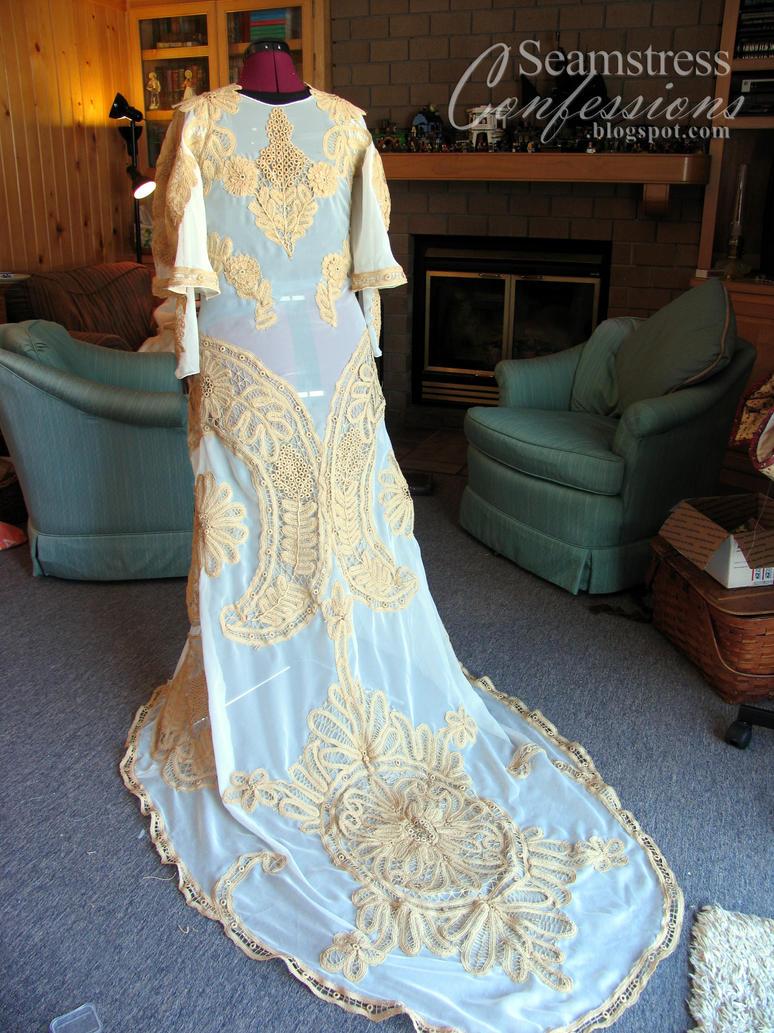 Padme Amidala Wedding Dress By Elenatintil