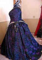 Queen Regina  Purple Apple Dress