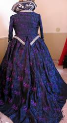 Queen Regina  Purple Apple Dress - Back