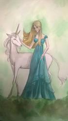 Daphne and the Unicorn