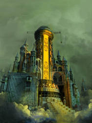 The Tower of Babel by arsdraw