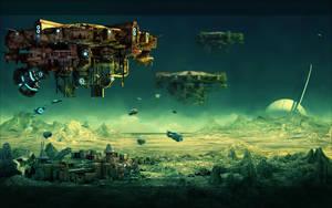 The Cosmic Odyssey by arsdraw