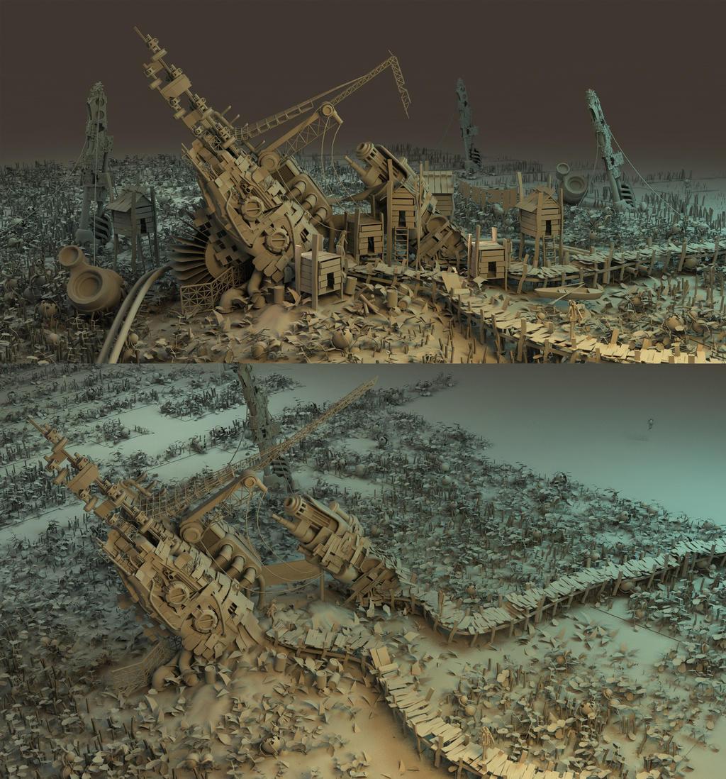 Strange world graymats by arsdraw