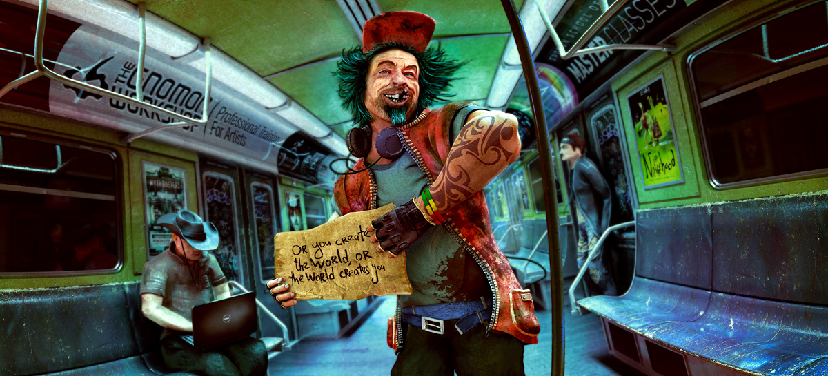 Borrowed Life by arsdraw