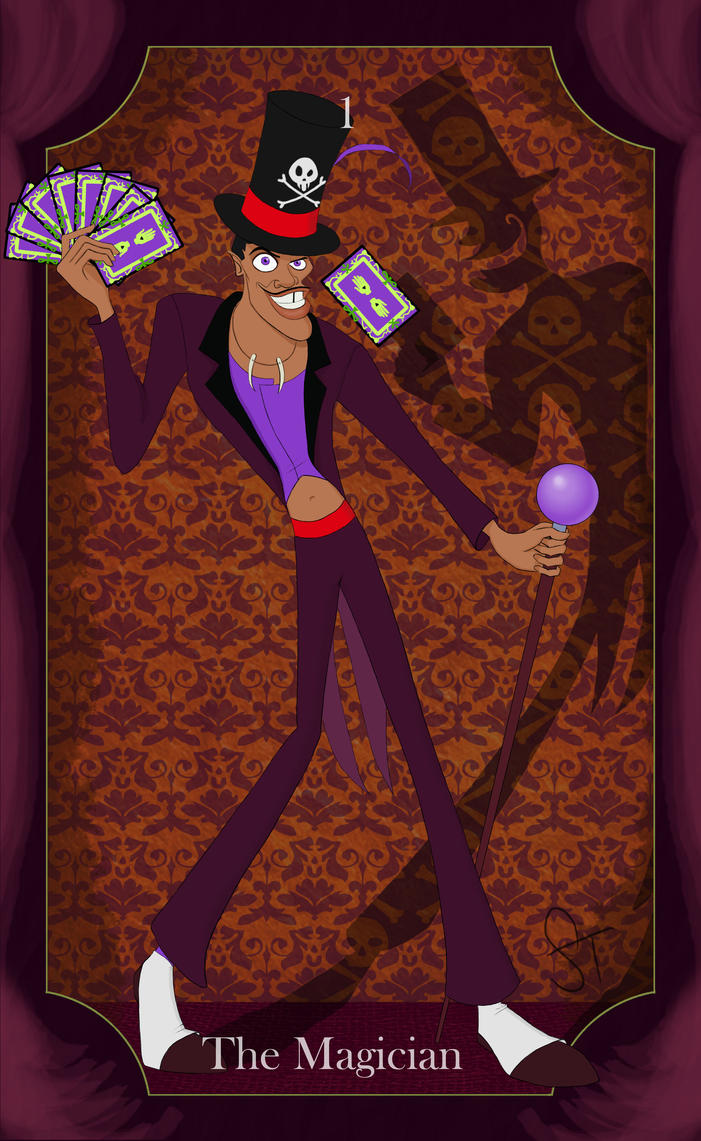 The Magician Tarot: The Magician By Girlwithquill On DeviantArt