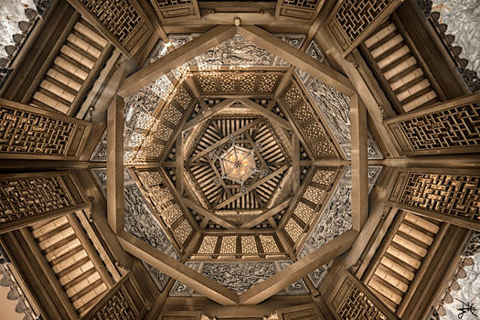 Chinese Pagoda - Infrared