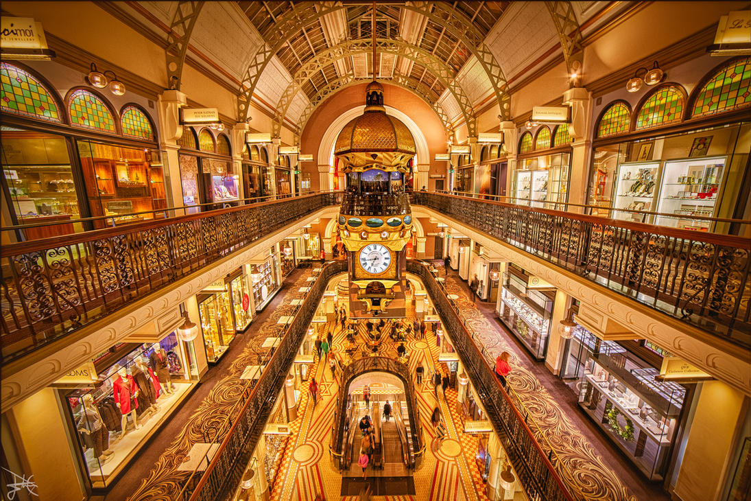 Queen Victoria Building, Sydney, Australia by SteveCampbell