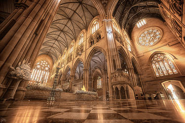 St Mary's Cathedral - Infrared by SteveCampbell