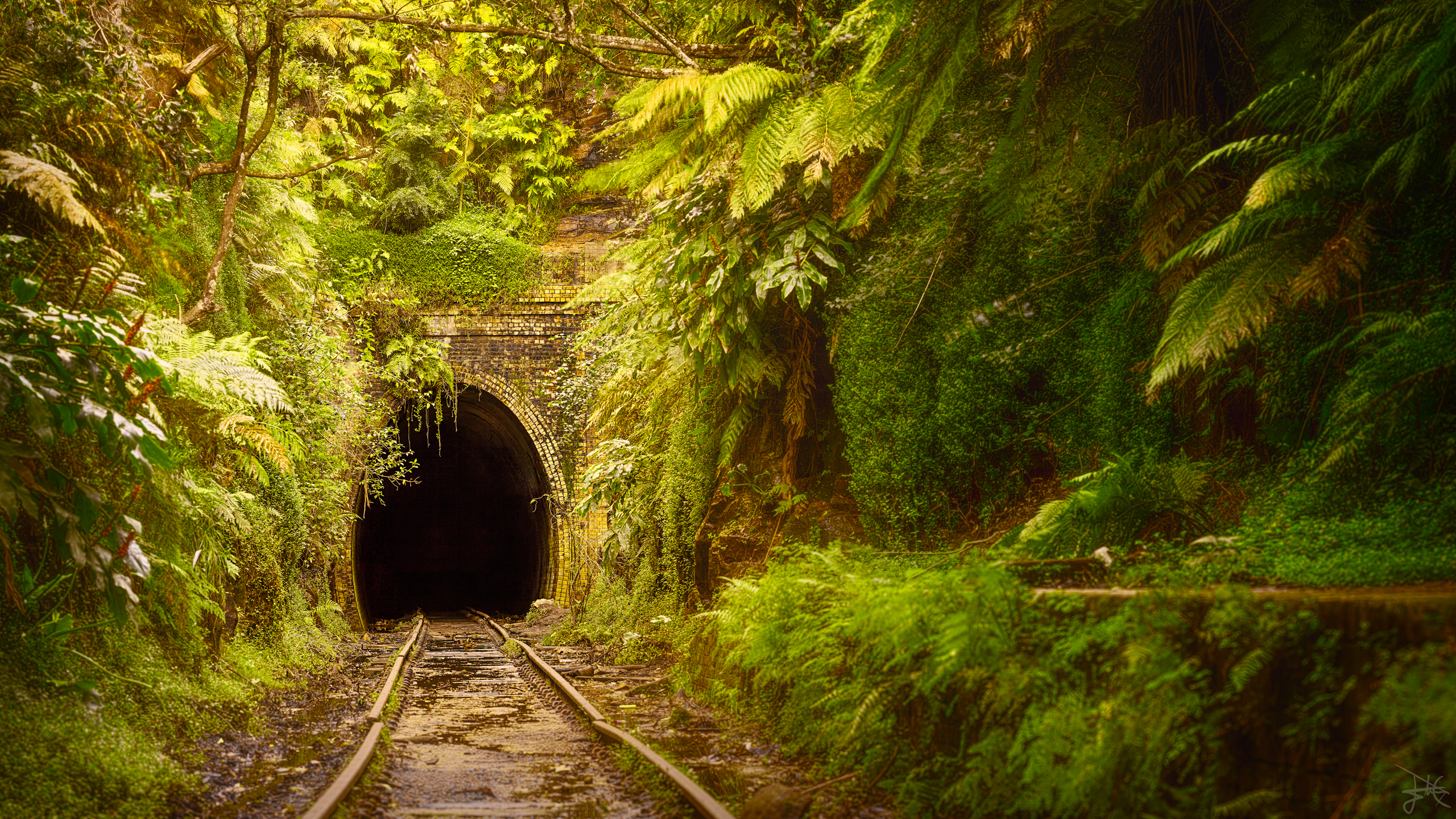 abandoned railway station australia by stevecampbell on