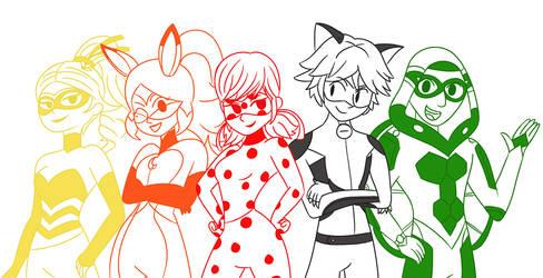 Commission: Miraculous Squad