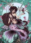 The Deermaid and the Sea~Unicorn