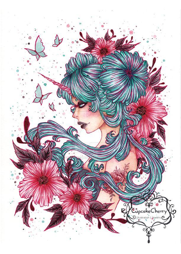 Unicorngirl by CupcakeCherry
