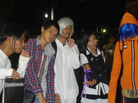 Reza Tanaka and the anime characters