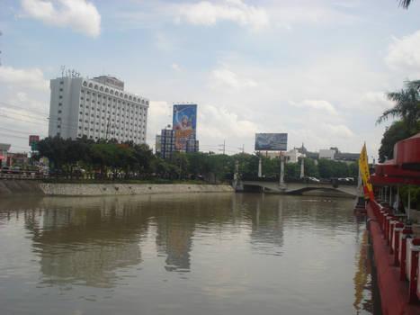 View of Kalimas River
